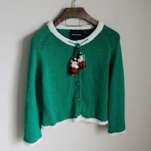 Michael Simon Santa toggle Christmas sweater-B2